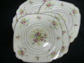 "Royal Albert ""Petit point"" salad plates"